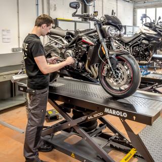 L'Atelier Bonnie Quality - Triumph Toulouse